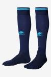 La-2172 Lacivert-Turkuaz Furbol Çorabı 40-45 Numara