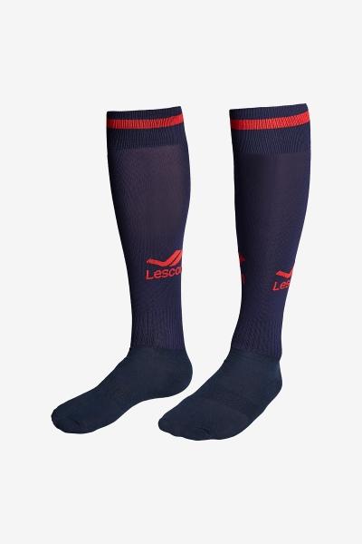 La-2172 Lacivert Kırmızı Futbol Çorabı 36-39