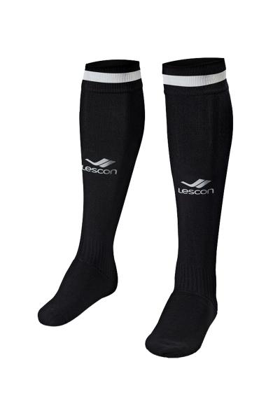 La-2172 Siyah Beyaz Futbol Çorabı 36-39 Numara