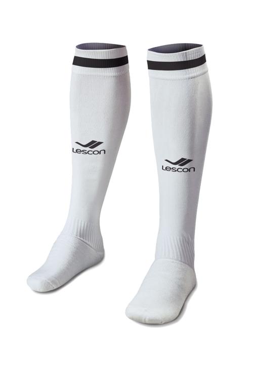 La-2172 Beyaz Siyah Futbol Çorabı 36-39 Numara