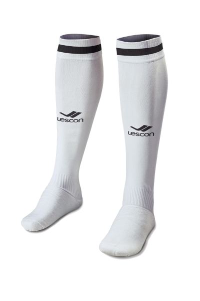 La-2172 Football Socks White Black 36-39 Number