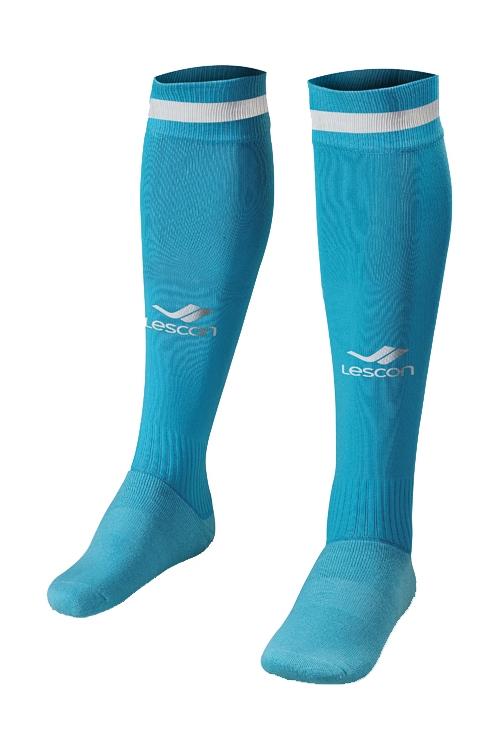 La-2172 Turkuaz Beyaz Futbol Çorabı 36-39 Numara