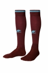 La-2172 Bordo Mavi Futbol Çorabı 36-39