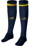 La-2172 Lacivert Sarı Futbol Çorabı 31-35 Numara