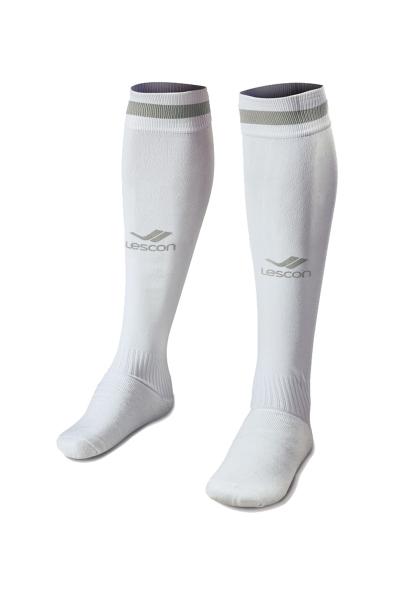 La-2172  Football Socks White Grey 31-35 Size