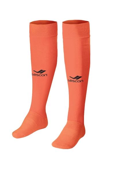 La-2172 Neon Oranj Siyah Futbol Çorabı 31-35 Numara
