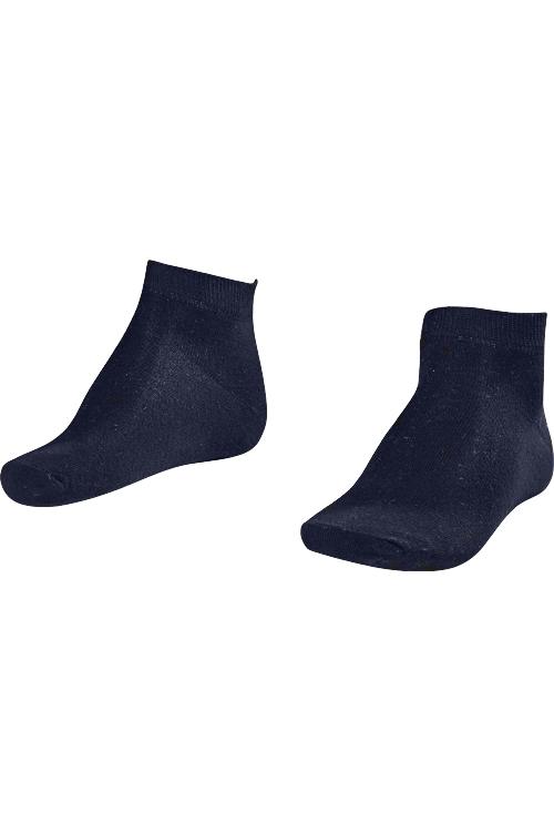 La-2184 Lacivert 2'li Patik Çorap 40-45 Numara