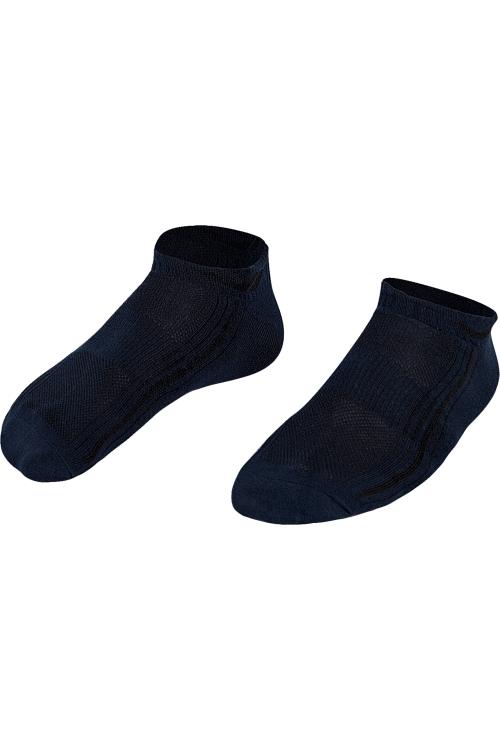 La-2194 Lacivert 2'li Patik Çorap 40-45 Numara