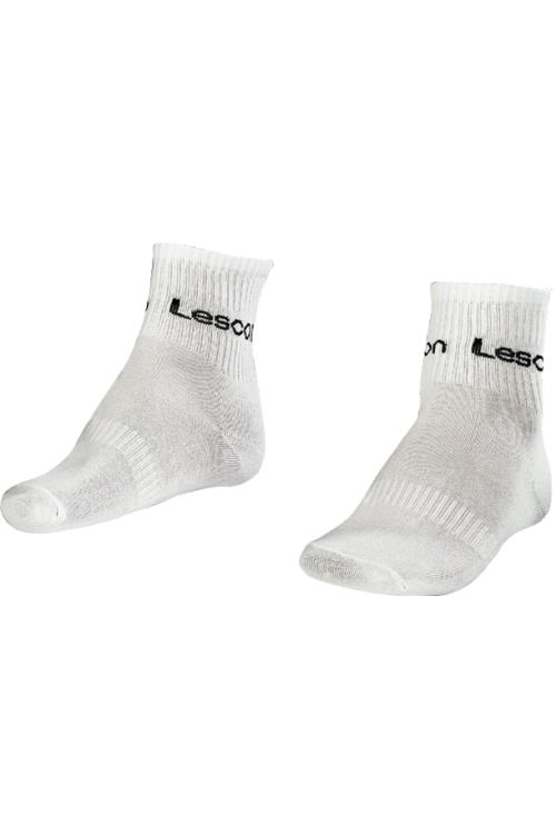 La-2181 Beyaz 2'li Tenis Çorap Kısa 36-40 Numara