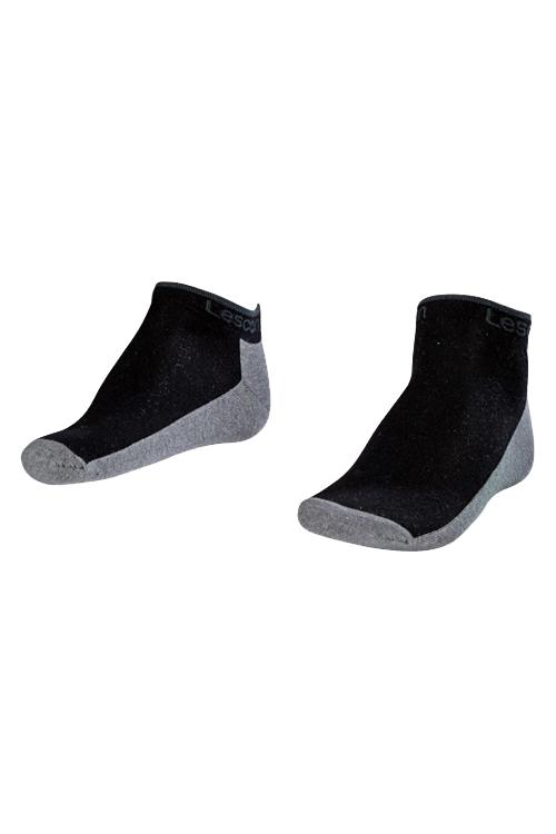 La-2185 Siyah 2'li Patik Çorap 36-40 Numara