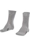 La-2186 2 Pack Classical Socks Grey 40-45 Number
