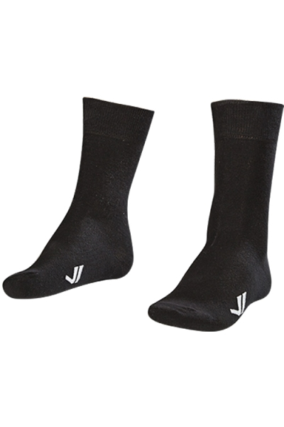 La-2186 2 Pairs in 1 Pack Classical Socks Black 40-45 Size