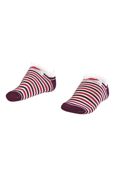 La-2188 Standart 3'lü Patik Çorap 26-30 Numara