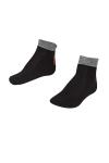 La-2189 Siyah 3'lü Tenis Çorabı 26-30 Numara