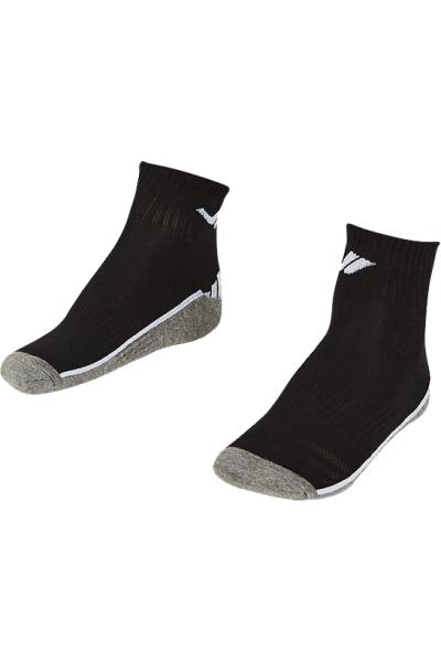 La-2193 Siyah 2'li Tenis Çorap 36-40 Numara