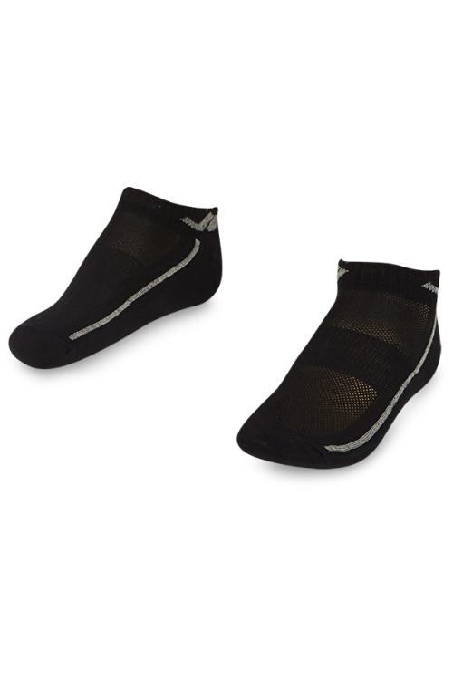 La-2194 Siyah 2'li Patik Çorap 36-40 Numara