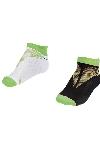 La-2196 F.Yeşil 2'li Patik Çorap 26-30 Numara