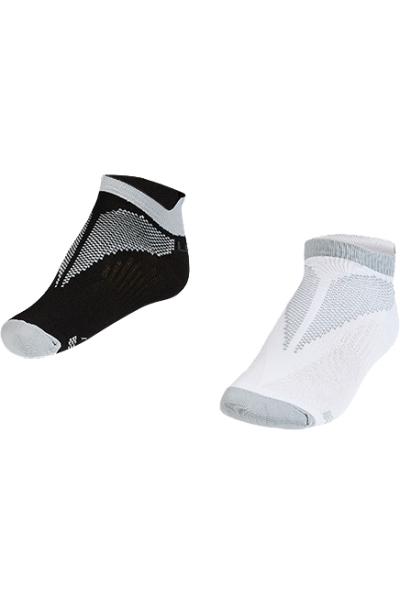 La-2196 Gri 2'li Patik Çorap 26-30 Numara