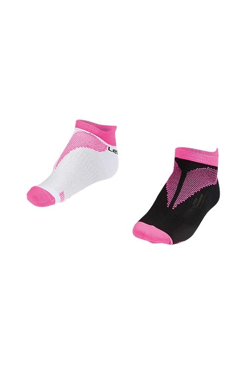 La-2196 Fuşya 2'li Patik Çorap 26-30 Numara