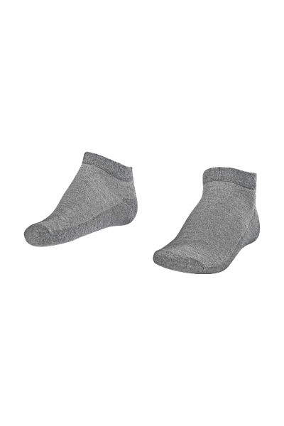 LA-2183 Greymelange Socks - Size: 40-45