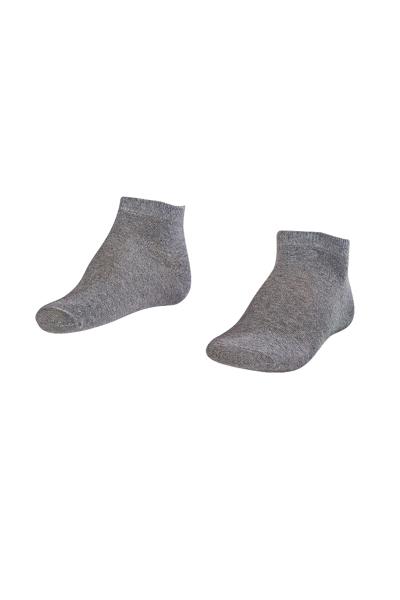 LA-2184 Greymelange Socks - Size: 40-45
