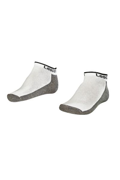 LA-2185 White Socks - Size: 40-45