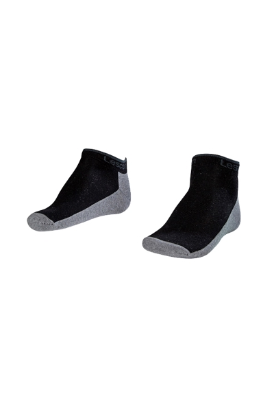 LA-2185 Black Socks - Size: 40-45