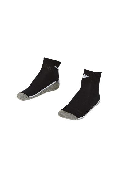 LA-2193 Black Socks - Size: 40-45