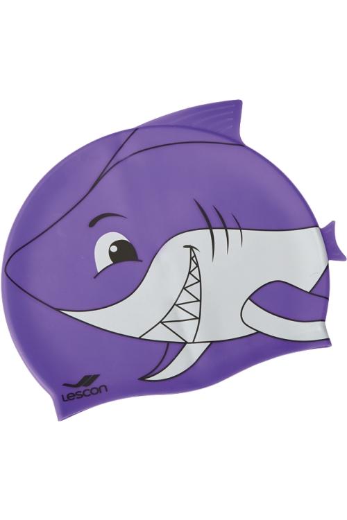 La-2217 Mor Silikon Bone Çocuk Köpekbalığı