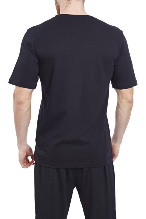 17S-1202 Siyah Erkek T-Shirt