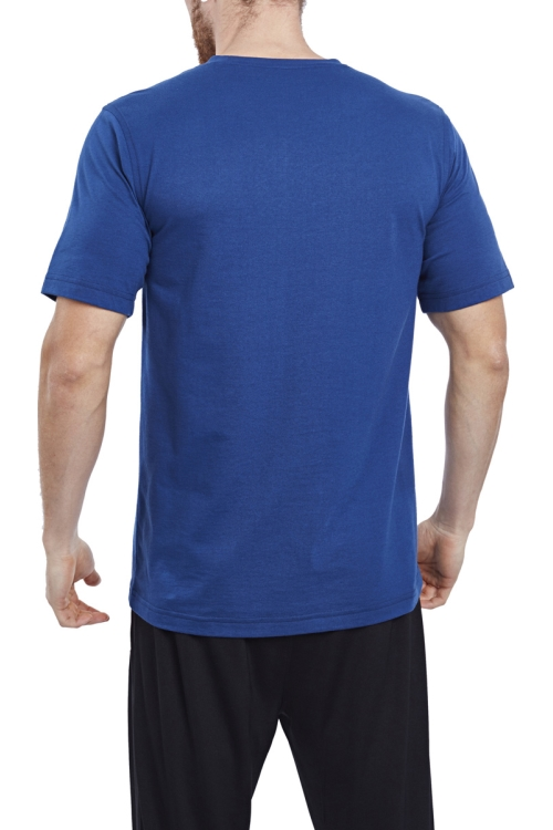17S-1202 İndigo Erkek T-Shirt