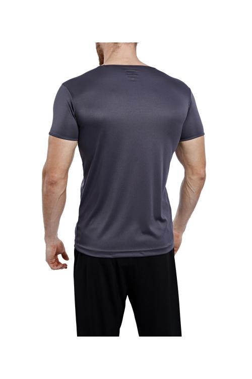 17S-1221 Antrasit Erkek T-Shirt