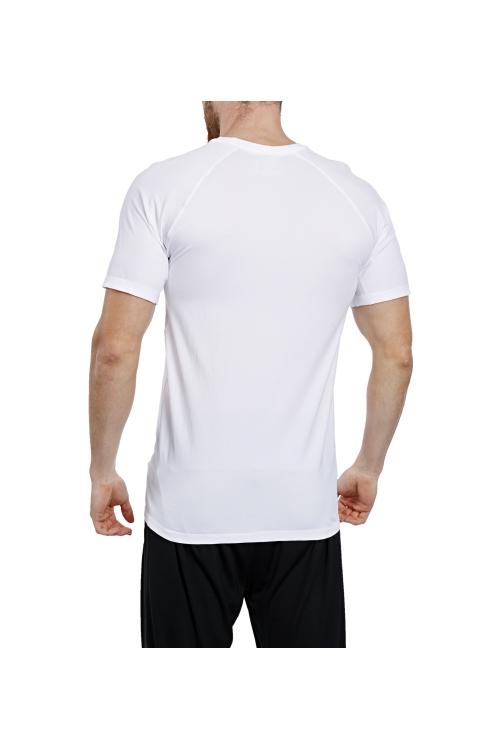 17B-1048 Beyaz Erkek T-Shirt
