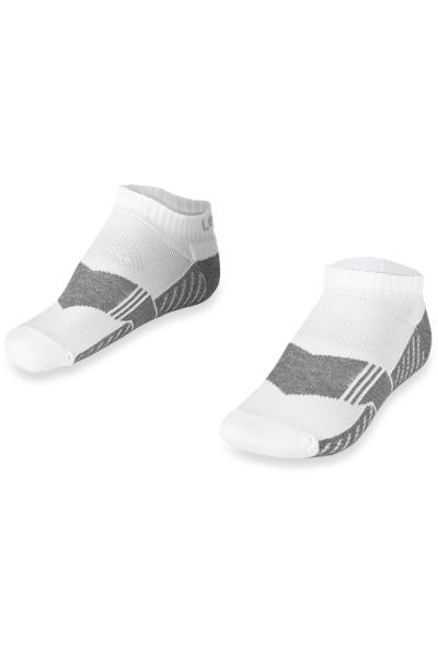 La-2168 2 Pack Sports Socks White 36-40 Number