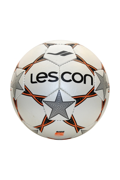 La-2568 Beyaz Turuncu Futbol Topu 4 Numara