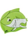 La-2220 Yeşil Çocuk Silikon Köpekbalığı Bone