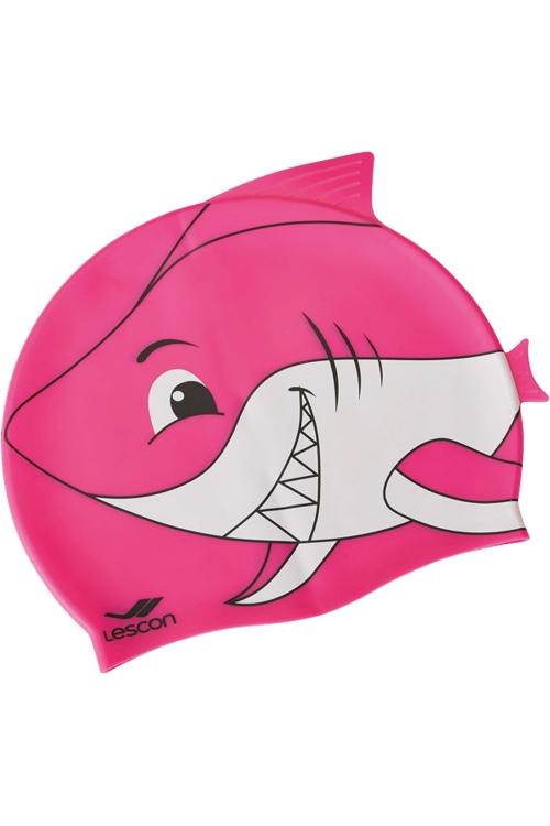 La-2220 Fuşya Çocuk Silikon Köpekbalığı Bone