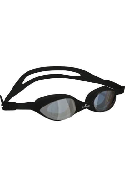 La-2224 Siyah Aynalı Yüzücü Gözlüğü