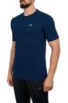 18S-1202 Lacivert Erkek T-Shirt