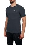 18S-1202 Antrasit Erkek T-Shirt