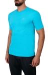 18S-1202 Turkuaz Erkek T-Shirt