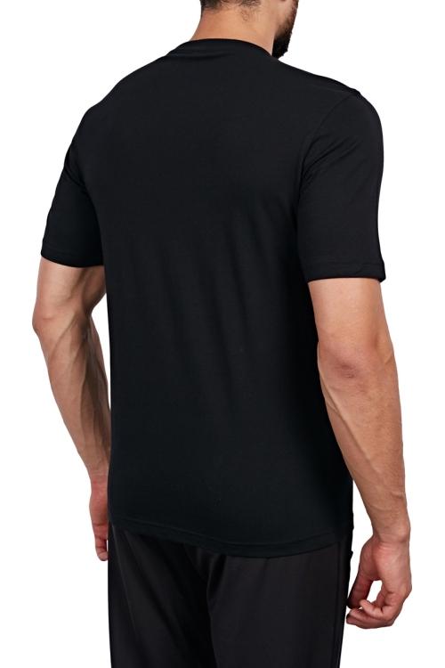 18S-1202 Siyah Erkek T-Shirt