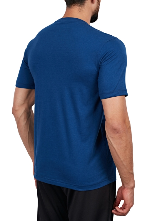 18S-1202 İndigo Erkek T-Shirt