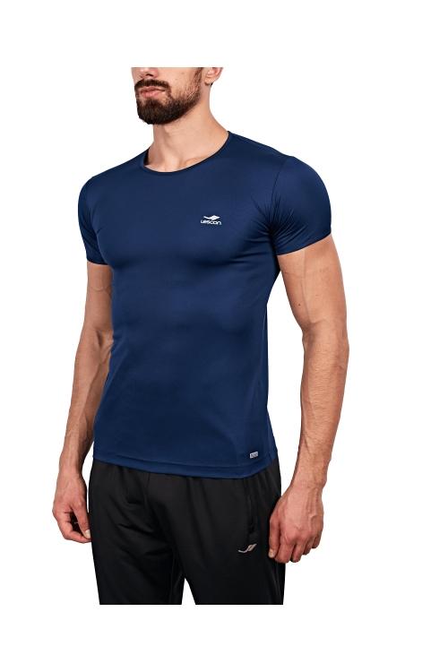 18S-1220 Lacivert Erkek T-Shirt