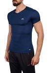 18S-1221 Lacivert Erkek T-Shirt
