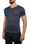 18S-1221 Antrasit Erkek T-Shirt