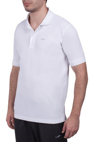 18S-1251 Beyaz Erkek T-Shirt