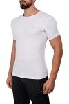 18B-1057 Beyaz Erkek T-Shirt