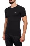18B-1057 Siyah Erkek T-Shirt
