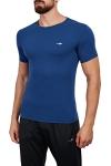 18B-1057 İndigo Erkek T-Shirt